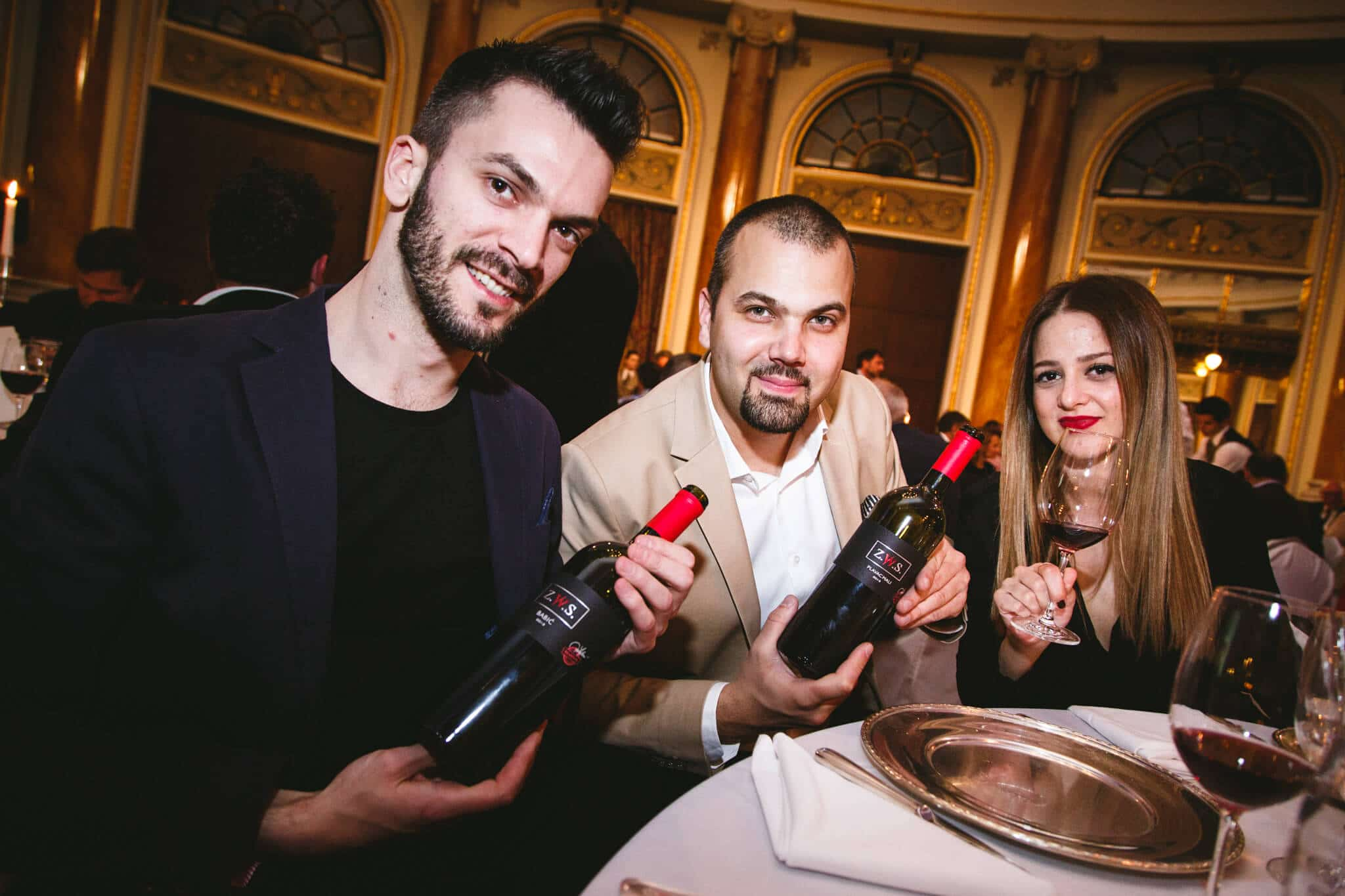 Z.W.S. vino i gosti Esplanada